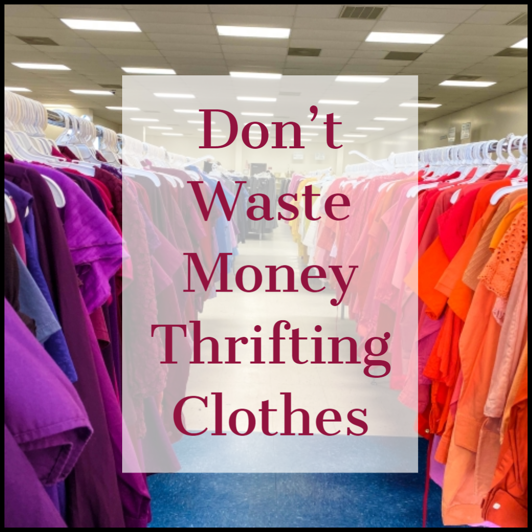 Read more about the article 3 Rules to STOP Wasting Money on Thrifted Clothes