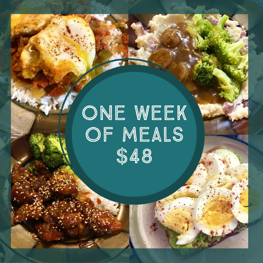 Read more about the article What Did We Eat This Week – How to Eat Well on a Budget • Week 3 of a full month!