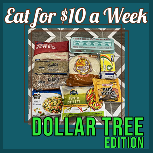 Read more about the article How to Eat For $10 a Week • Dollar Tree