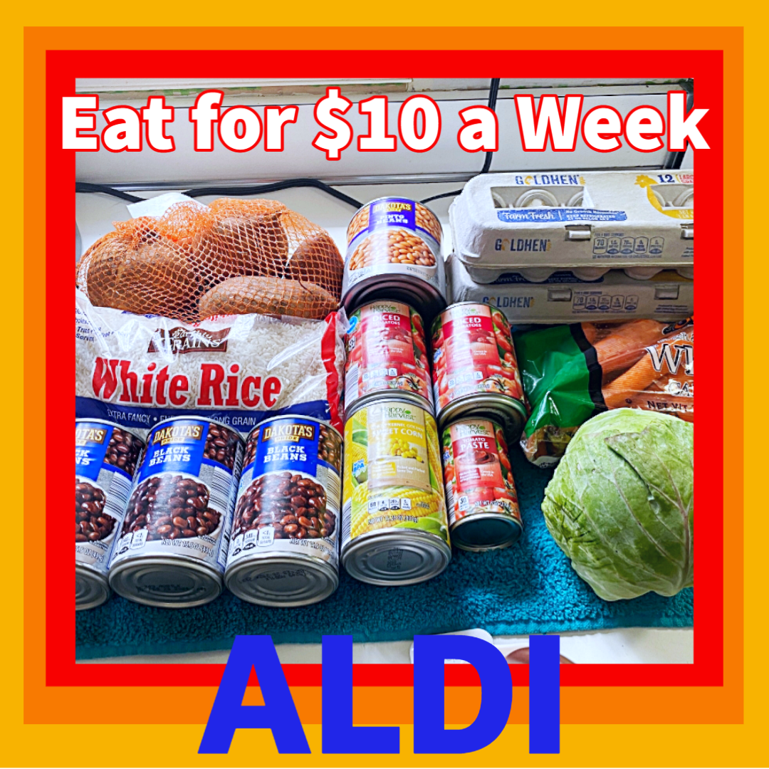 Read more about the article How to Eat For $10 a Week • Aldi